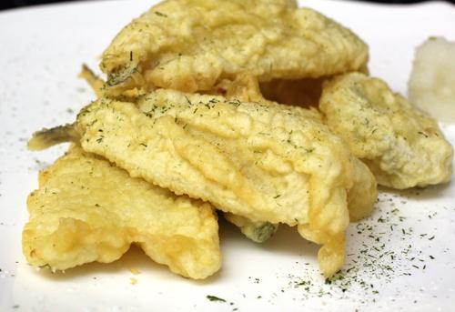 A sad rendition of tempura.