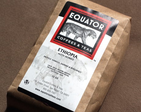 The beans are sold under the Equator brand.