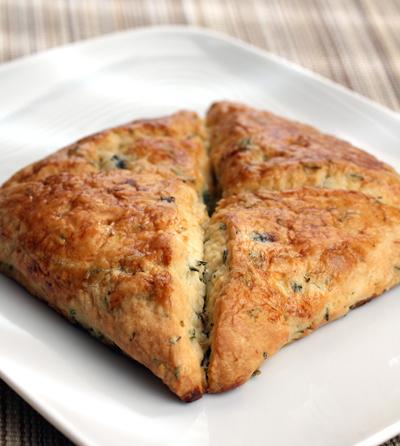 Pastry Smart's mushroom-thyme scone.