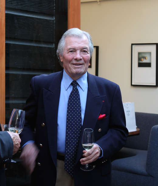 The one and only Jacques Pepin -- in town for dinner at Saison in San Francisco.
