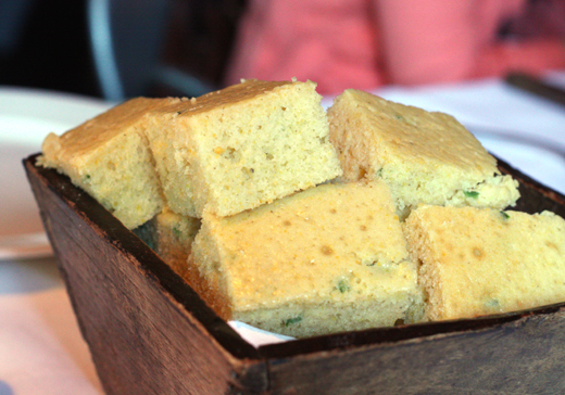 Jalapeno corn bread as moist and fluffy as cake.