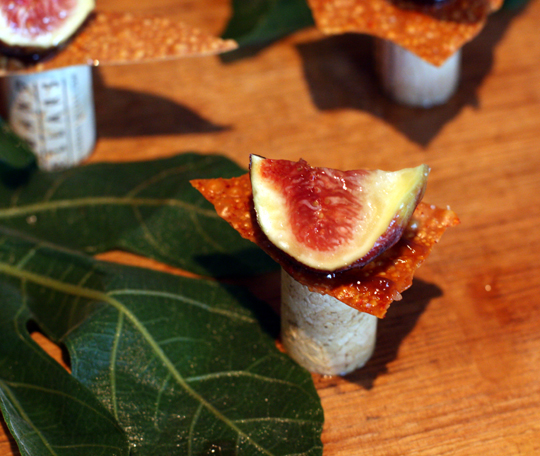 Fresh figs with balsamic vinegar from Spruce.
