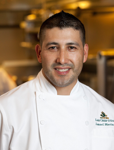 Chef Ismael Macias of LarkCreekSteak. (Photo courtesy of the restaurant)