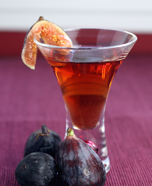 A new brandy made from black Mission figs. It's heaven in a glass.