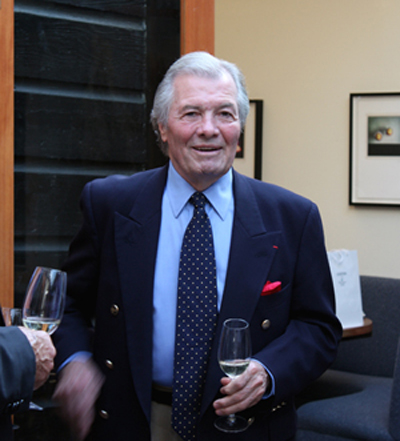 Jacques Pepin visited Saison restaurant in San Francisco earlier this summer. (Photo by Carolyn Jung)