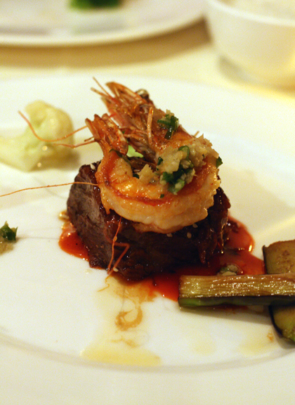 Short rib cooked two ways.