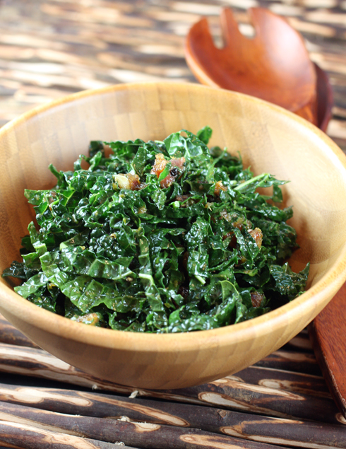 A kale salad that won't wilt on your holiday table.