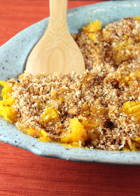 A drizzle of balsamic vinegar makes magic in this butternut squash dish.
