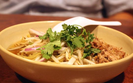 A warm, nourishing bowl of saimin.