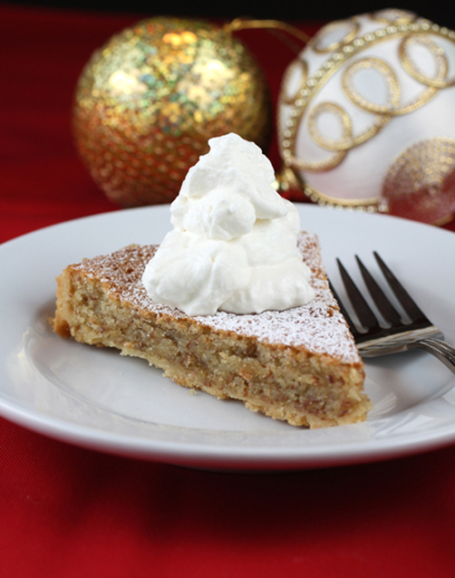 A perfect holiday dessert with the perfect -- and crazy -- crust.