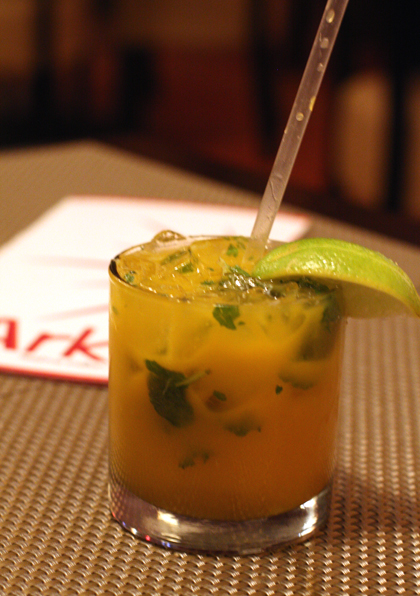 "A non-alcoholic mango ""mojito.'' Perfect for spicy food."
