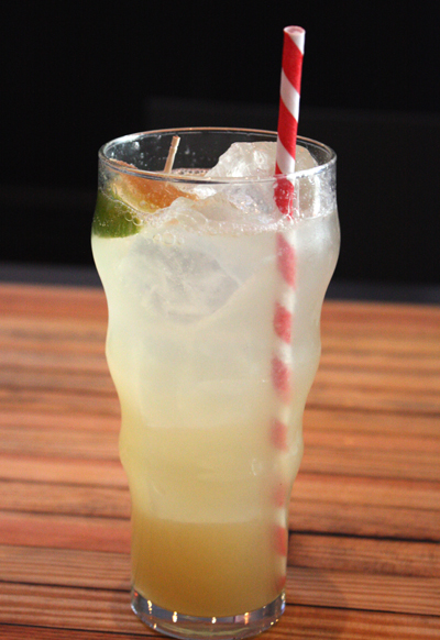 A fabulous Ginger Rickey.