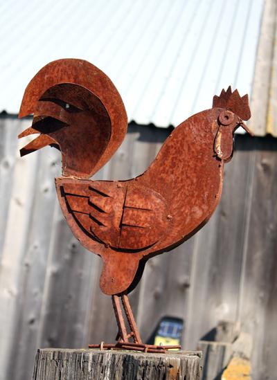 A ranch mascot.