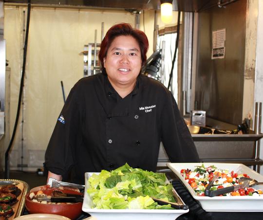 Head Chef Mia Messier.