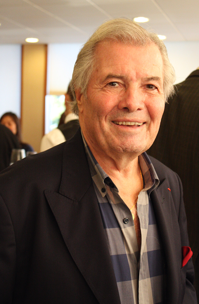 Yes, Jacques Pepin was in the South Bay last week.