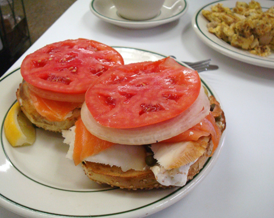 When in New York, you've gotta have a bagel. Or two. Or...