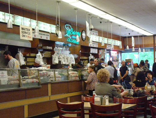 A deli that doesn't get more old-school.