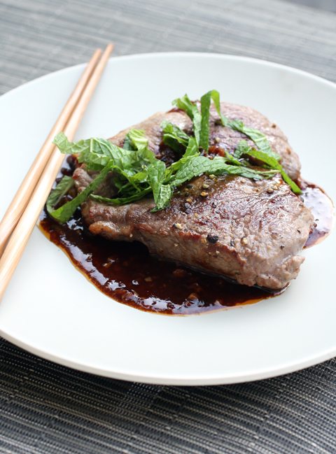 A lamb steak that any Dad is sure to love.