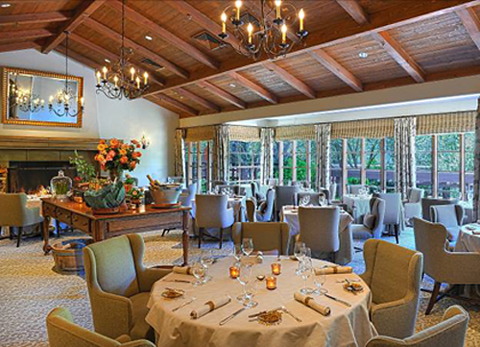 The elegant new dining room at Marinus. (Photo courtesy of the restaurant