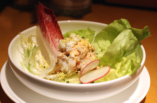 Crab Louis with scratch-made dressing.