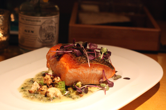Wild King salmon in all its glory.