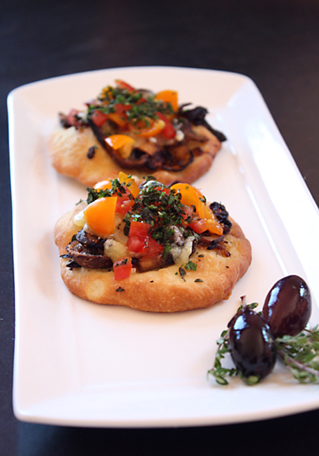 Mediterranean summer flatbreads to enjoy with wines at Fort Ross Vineyward's new tasting room.