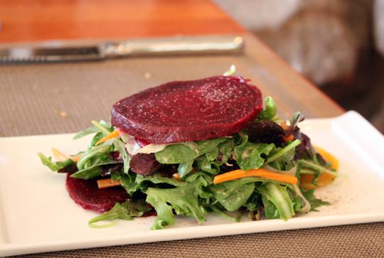 A simple beet salad.