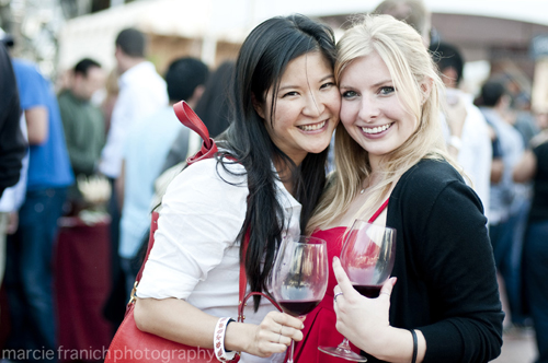 Revelers at last year's FallFest. (Photo by Marcie Franich Photography)