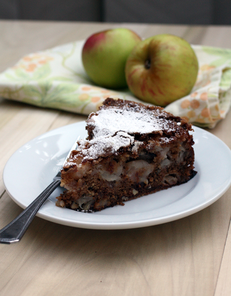 A profusion of apples and pecans in every slice.