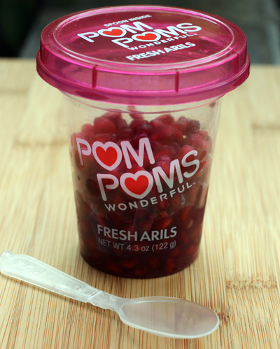 So easy to use that you'll be eating pomegranate seeds day and night from now on.