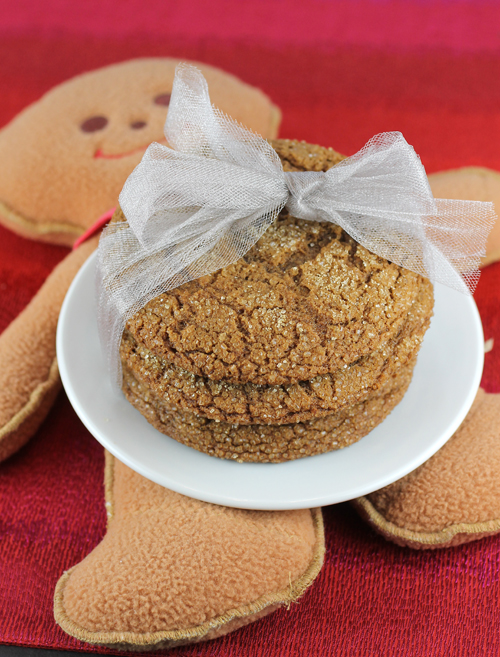 Ginger cookies, anyone? These might just be too good to share.