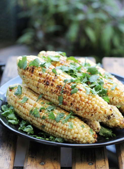 An easy, delightful way to dress up grilled corn.
