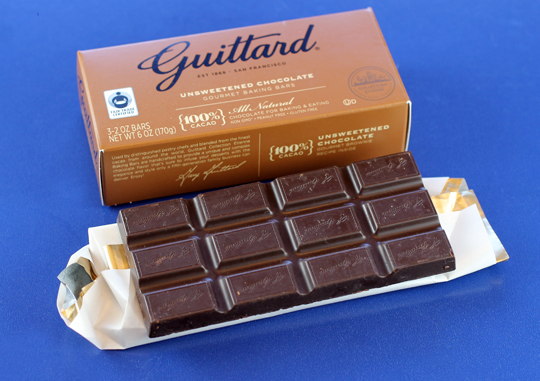 Guittard's new Etienne Baking Bars.