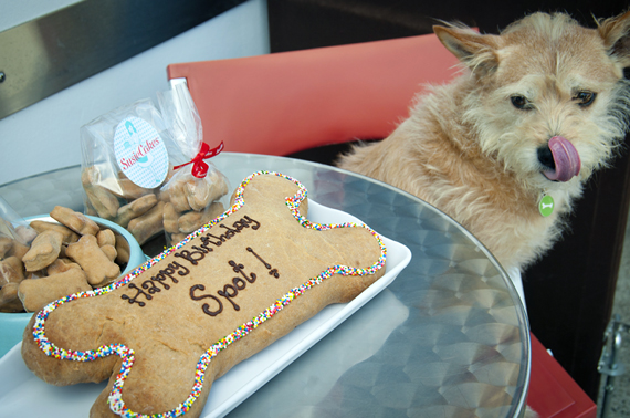 SusieCakes salutes man's best friend during August. (Photo courtesy of SusieCakes.)