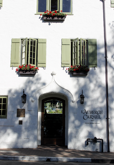 The inn is situated in the heart of the charming village.