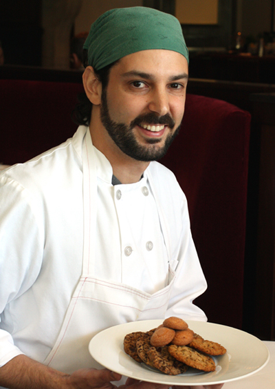 Pastry Chef Rodney Cerdan. (Photo by Carolyn Jung)