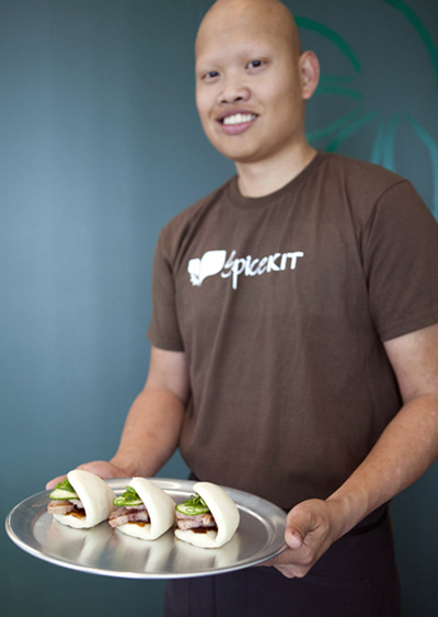 Chef-Owner Will Pacio of Spice Kit. (Photo courtesy of the chef)
