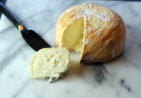 A super creamy washed-rind cheese.