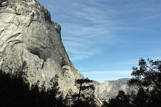 A beautiful day in Yosemite National Park.