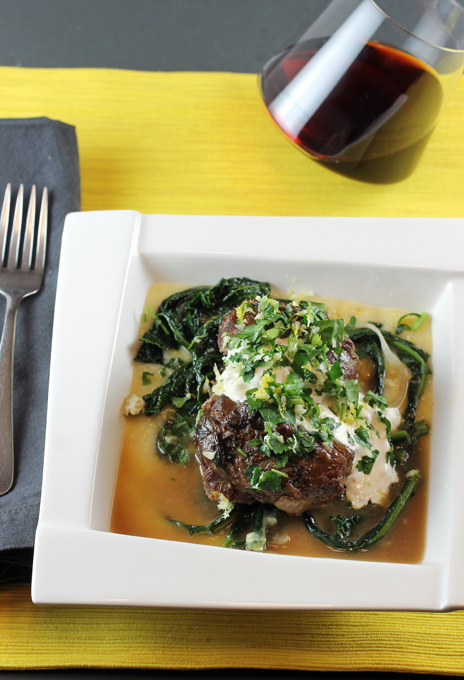A.O.C's pork cheeks -- made in the comfort of your own home.