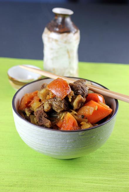 Tadashi Ono's lamb curry.