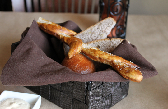 The bread basket you can't stop eating.