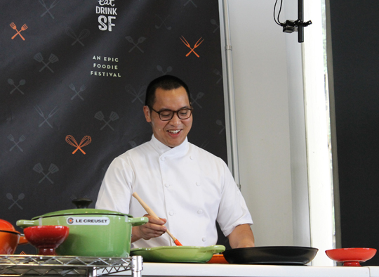Chef Justin Yu of Oxheart in Houston.