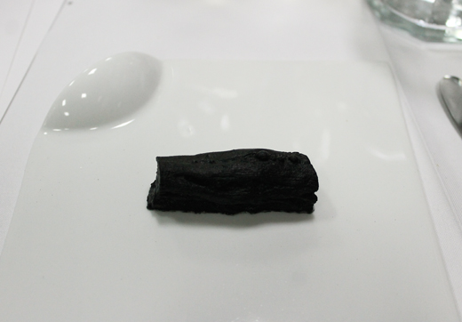 It looks like a stick of charcoal....