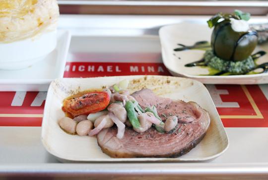 Keller's featured lamb dish.