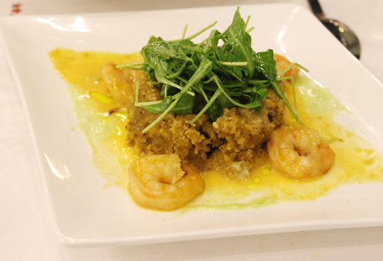 Shrimp Mofongo.