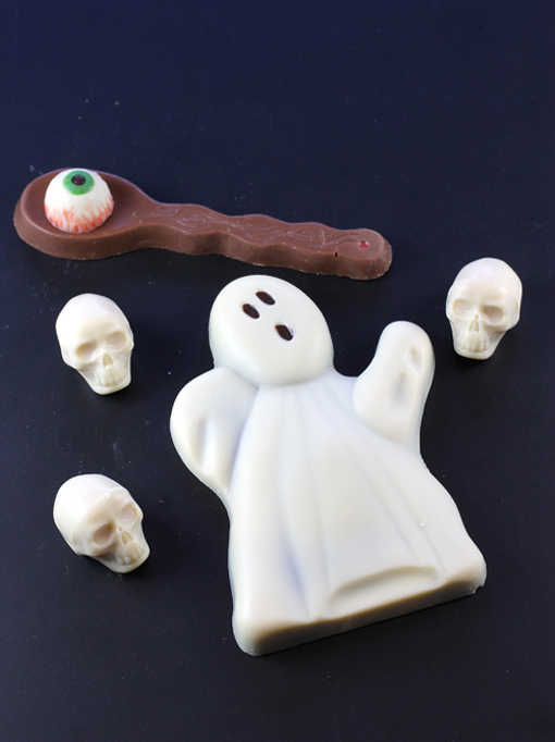 "Woodhouse Chocolate says ""boo'' in the sweetest way."