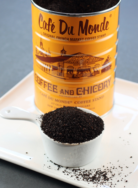 Chicory-laced coffee from New Orleans fabled Cafe du Monde.