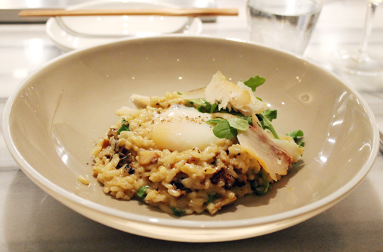 Abalone risotto -- one of Ka'ana Kitchen's most popular dishes, deservedly so.