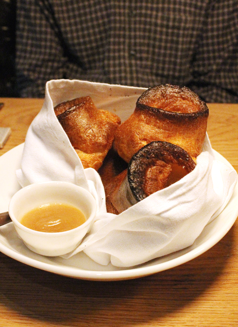 Popovers to absolutely, positively die for -- at The Farmer and The Fox.